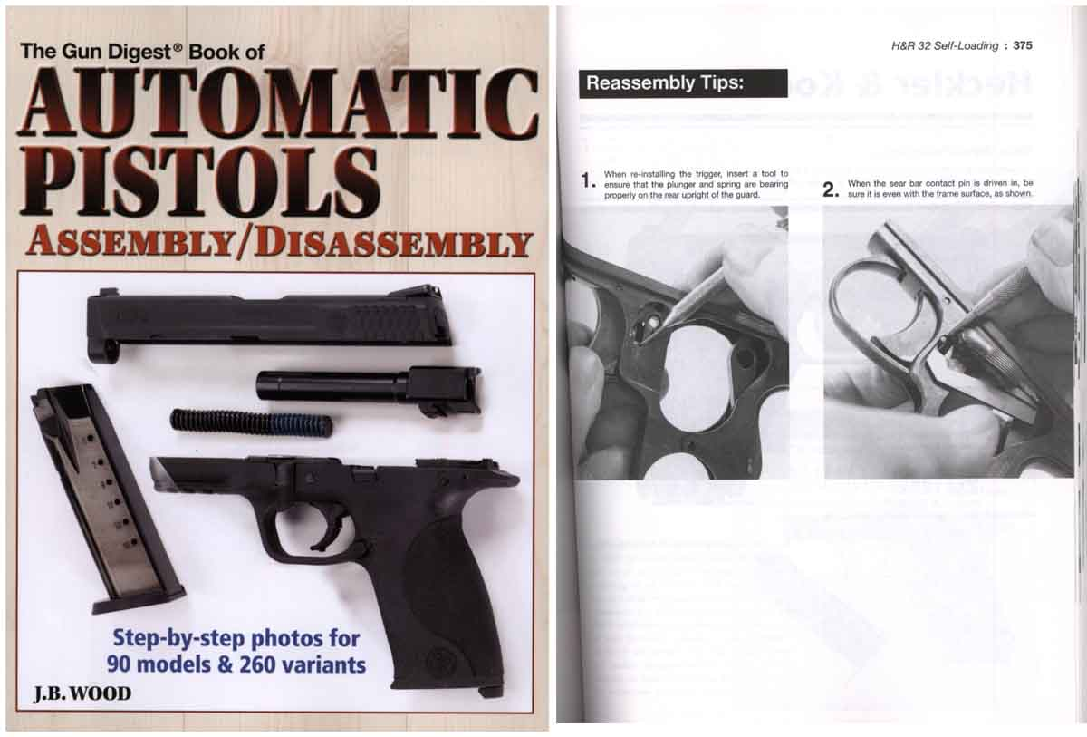 Takedown Book of Automatic Pistol Assembly/Disassembly by Gun digest
