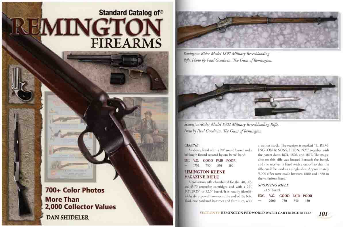 Standard Catalog of Remington Firearms by Gun Digest
