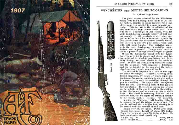 Abercrombie & Fitch Firearms & Sports 1907 Catalog