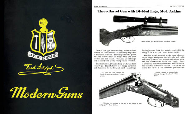 Adolph, Fred Modern Guns c1914, Genoa, New York