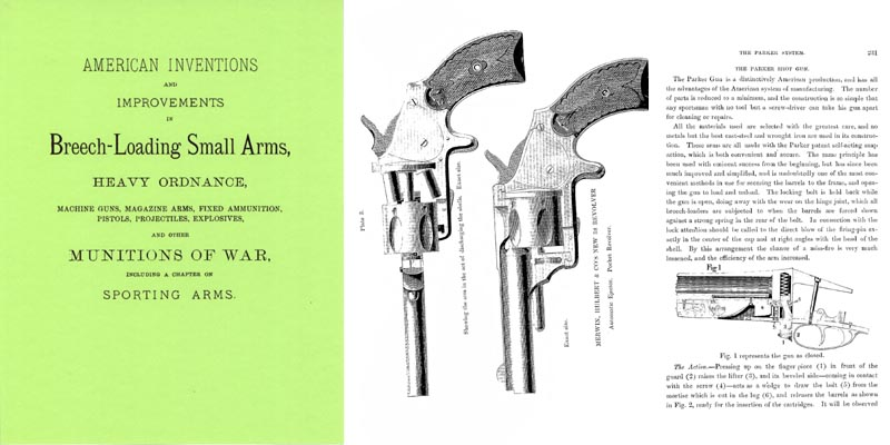 American Inventions and Improvements 1880 In Breech-Loading Small Arms, Heavy Ordinance and other Munitions of War