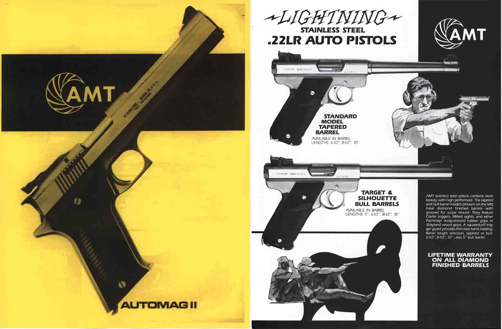 Arcadia Machine & Tool, Inc - AMT 1987 Gun Catalog