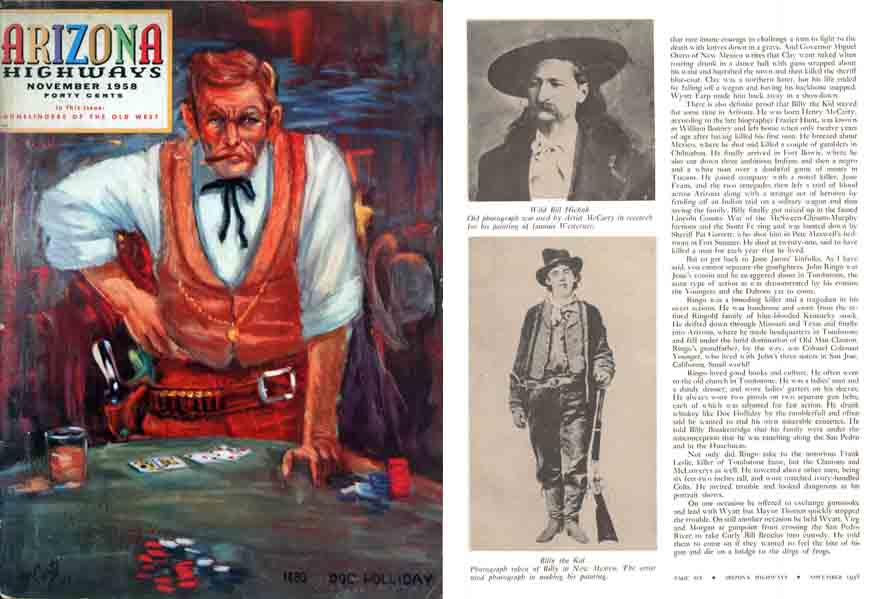 Arizona Highway 1958 Gunslingers of the Old West