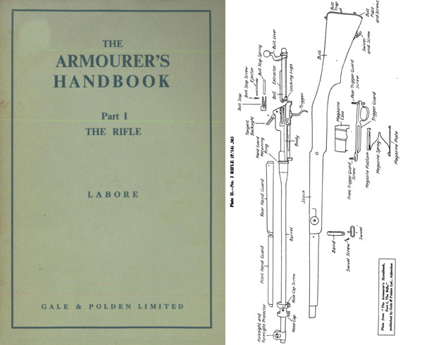 The Armourer's Handbook Part I- The Rifle c1940- Manual