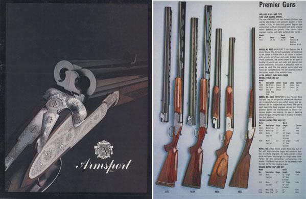 Armsport, Inc. 1980 Gun Catalog- Miami, FL.