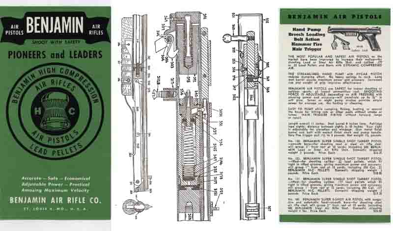 Benjamin Air Rifles 1946 Catalog