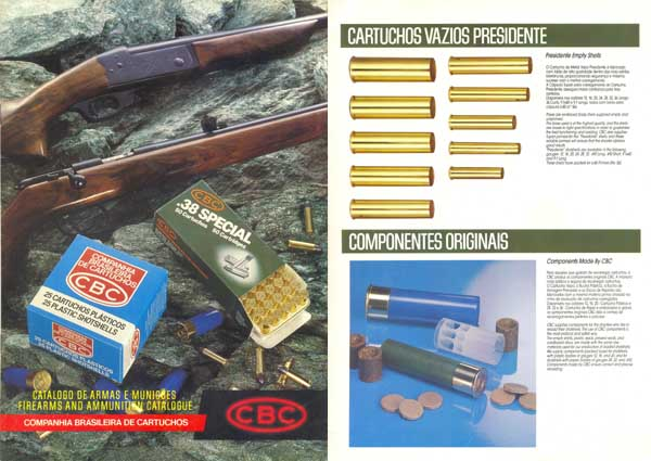 CBC Firearms and Ammunition 1986- Sao Paulo, Brazil