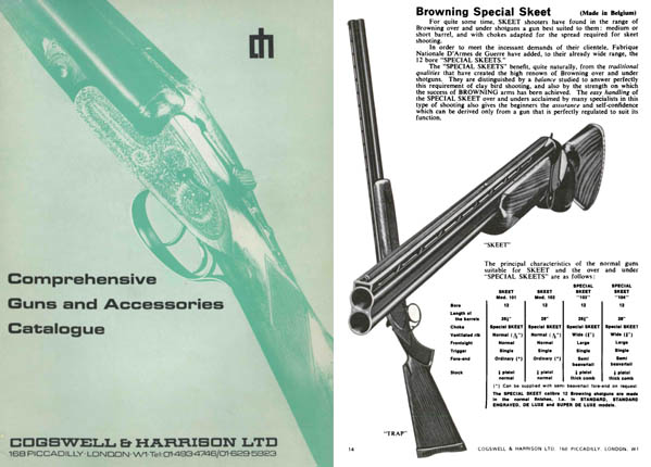 Cogswell & Harrison 1973 Guns and Accessories Catalog