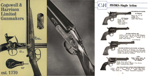 Cogswell & Harrison c1975 Gun Catalog, London, England