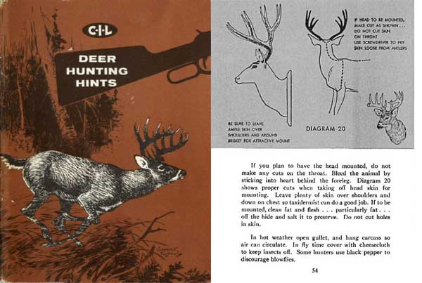 CIL (Canadian Industries Ltd.) c1950 Deer Hunting Hints