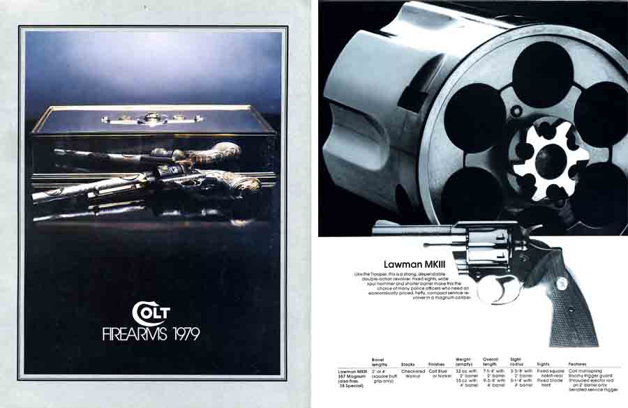Colt 1979 Firearms Catalog