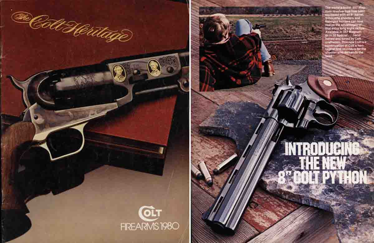 Colt 1980 Firearms Catalog
