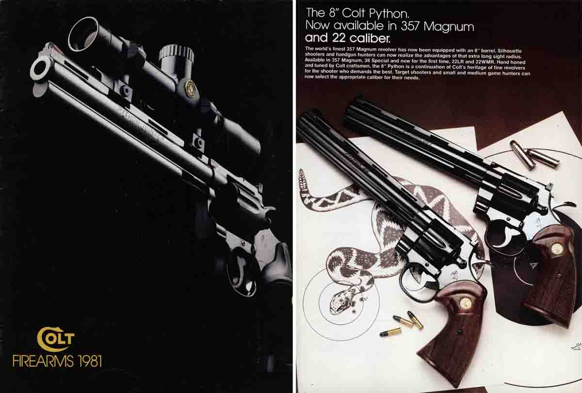 Colt 1981 Firearms Catalog