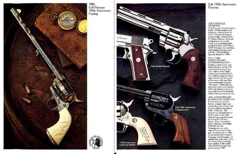 Colt 1986 150th Anniversary Catalog