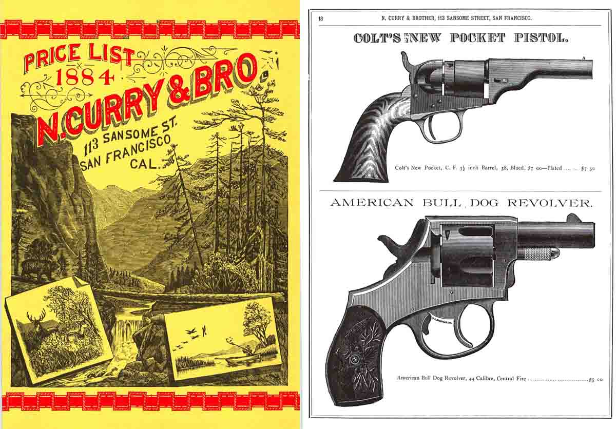 N. Curry and Bro. (San Fran., CA) 1884 Catalogue
