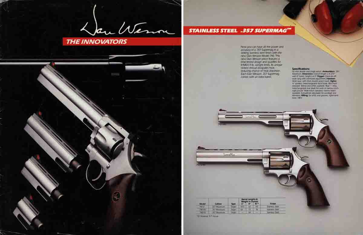 Dan Wesson 1986 Arms Inc. Firearms Catalog