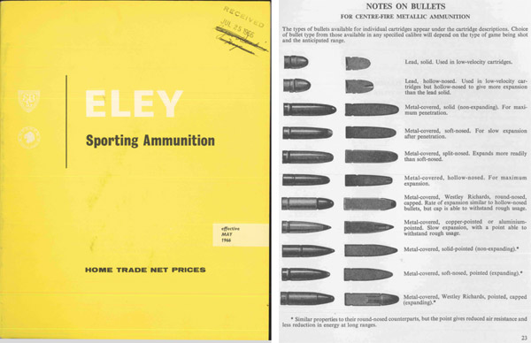Eley 1966 Sporting Ammunition