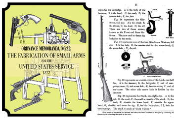 Ordnance Memoranda, No 22.- Fabrication of Small Arms for the United States Service