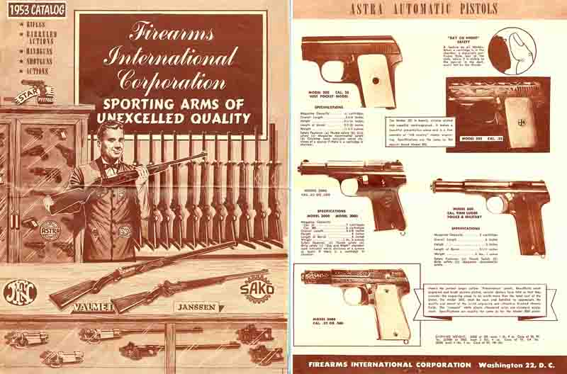 Firearms International 1953 Gun Catalog