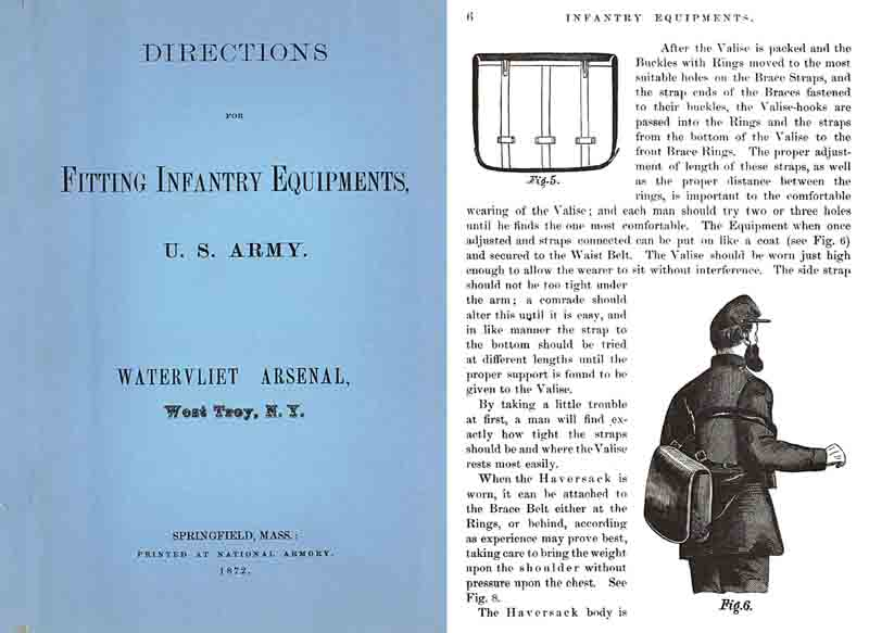 Fitting Infantry Equipments 1872