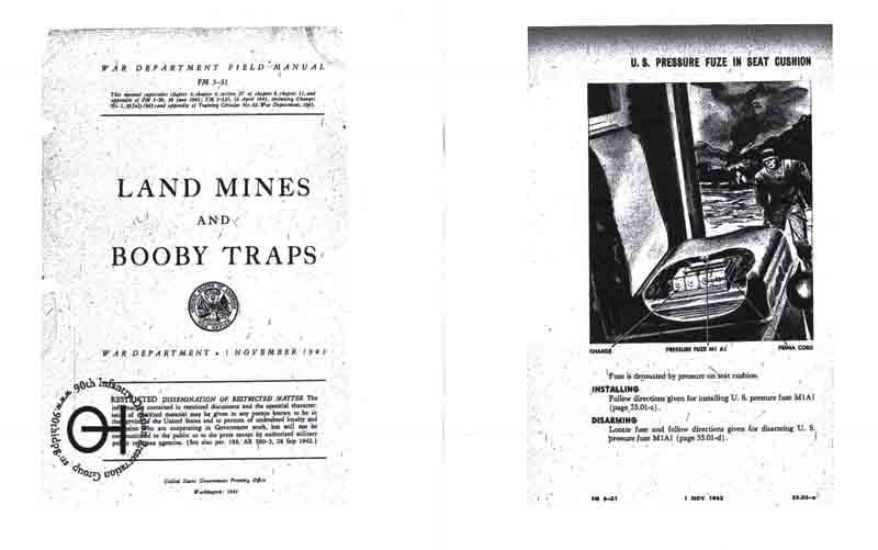 FM 5-31	Land Mines and Booby Traps (1943)