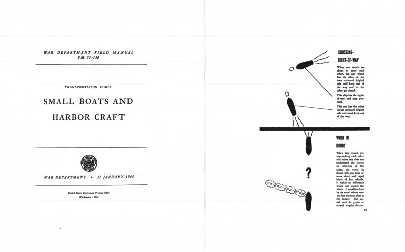 FM 55-130 1944 Small Boats and Harbor Craft