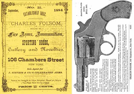 Charles Folsom 1884 Guns and Sporting Goods