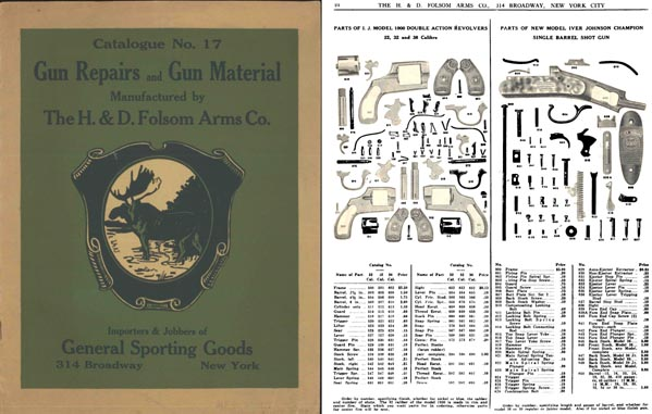 H & D Folsom 1920 Gun Materials No. 17