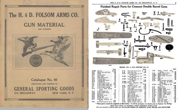 H & D Folsom 1937 Gun Materials No. 46