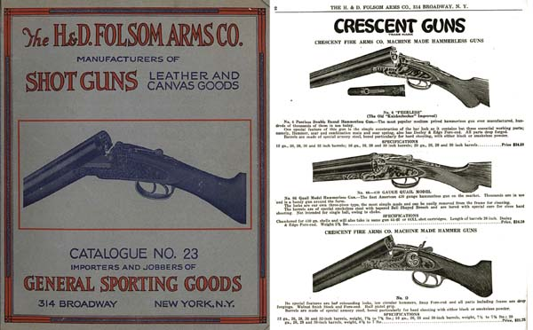 H & D Folsom 1926 Arms Company Catalogue No. 23