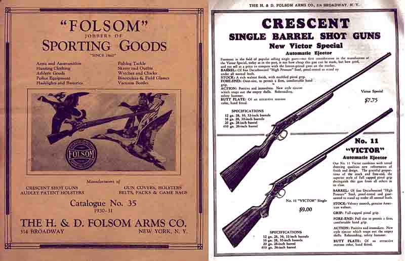H & D Folsom 1931 Arms Company Catalogue No. 35