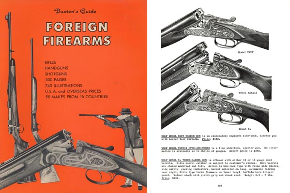 Foreign Firearms Guide by Buxton's