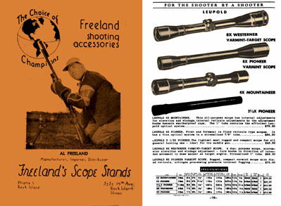 Freeland, Al 1956c Shooting Accessories, Rock Island, IL