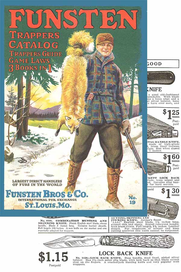 Funsten Bros. Outfitters and Fur Exchange 1919 Catalog