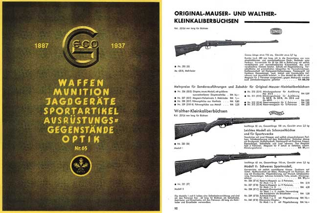 GECO Munitions 1937 Catalog No. 65 - 50th Anniversary Issue