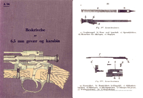 Beskrivelse 6.5 mm Gevaer Karabin 1940 Manual