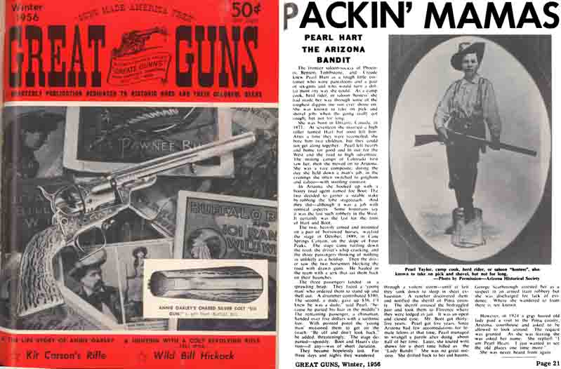 American Guns Magazine 1956 1st ed. Andy Palmer Great Guns Quarterly