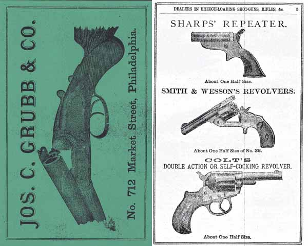 Jos. C. Grubb & Co. Gun Catalog and Prices 1882