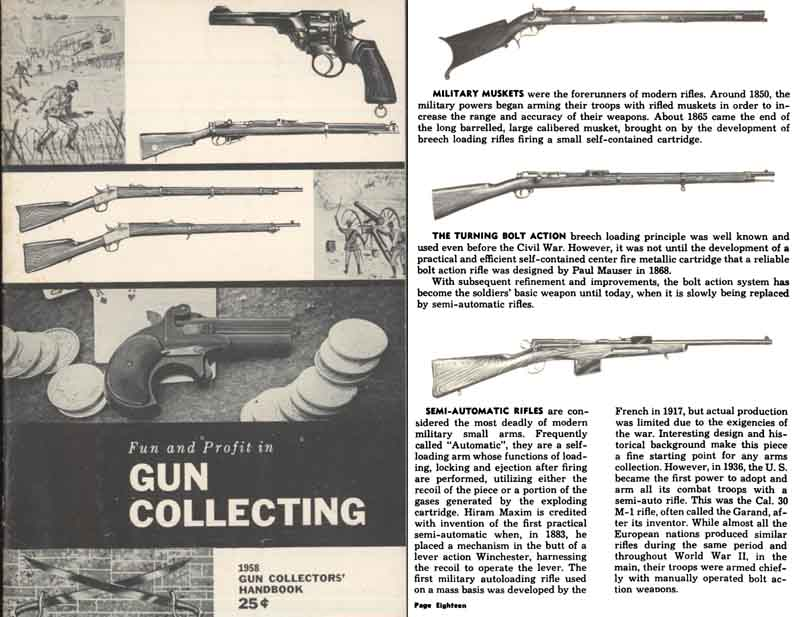 Gun Collecting-Fun and Profit in 1958 - Golden State Arms Co.