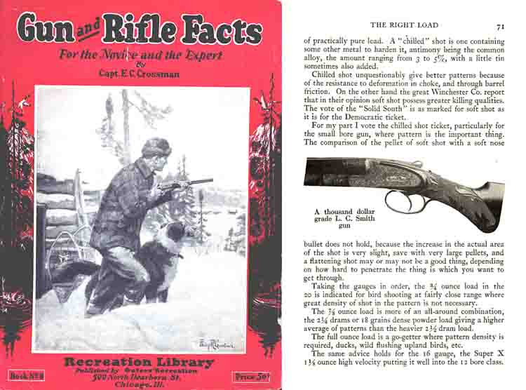 Gun and Rifle Facts 1923 by Edw. Crossman
