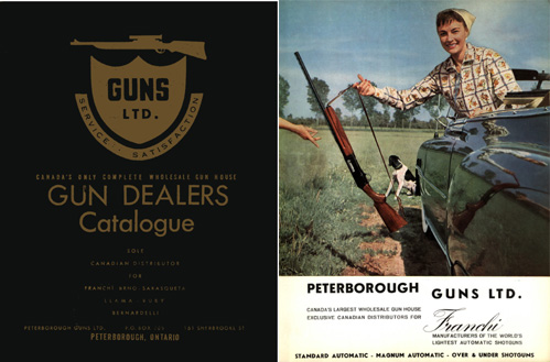 Guns Limited Catalog 1960, Peterborough, Canada