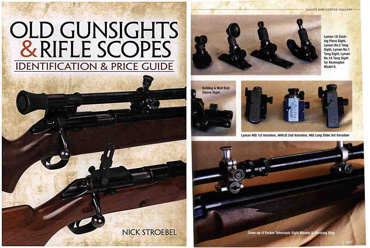 Old Gunsights & Rifle Scopes - ID and Price Guide - Gun Digest- Manual