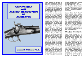 Gunsmiths and Allied Professions of Alabama (Percussion and Flintlock era)