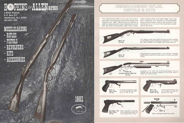 Hopkins and Allen 1982 Gun Catalog by Numrich