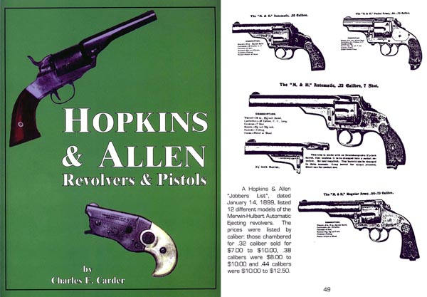 Hopkins & Allen Revolvers and Pistols - Carder