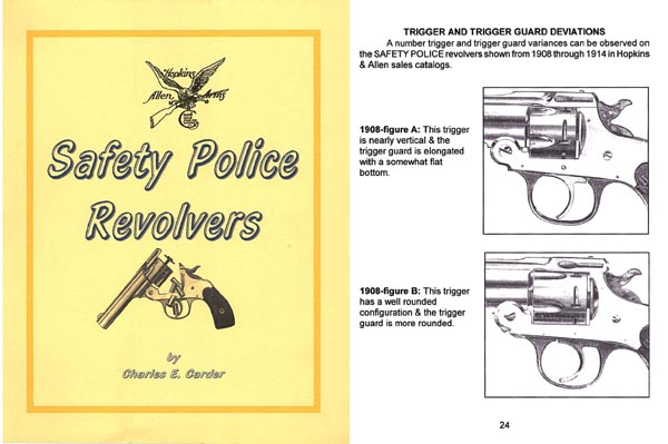 Hopkins & Allen Safety Police Revolvers - Carder