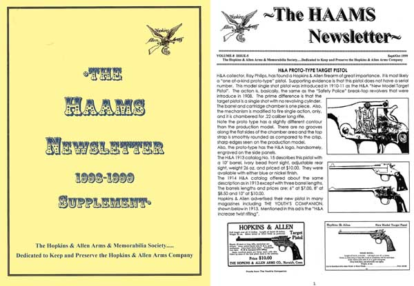 HAAMS Newsletters Vol 7 and 8 - Carder
