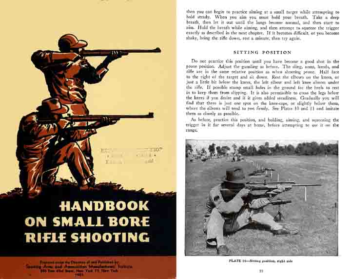 Handbook on Small Bore Rifle Shooting 1953 - Whelen