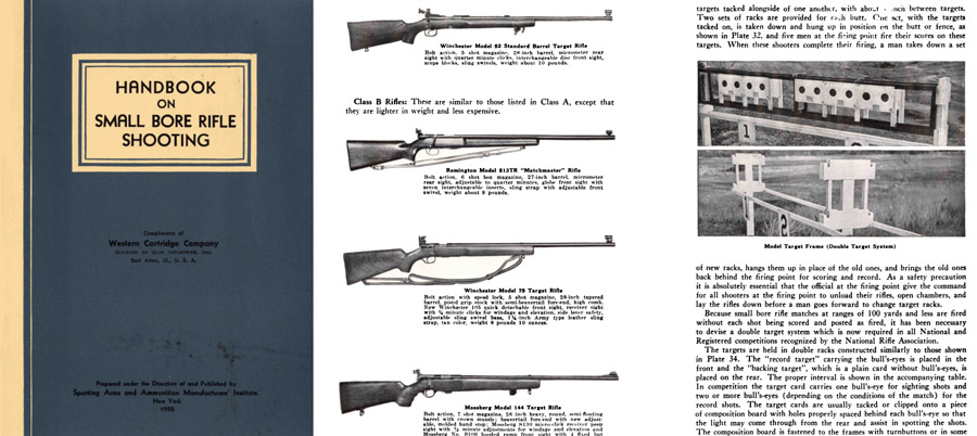 Handbook on Small Bore Rifle Shooting 1950 - Whelen