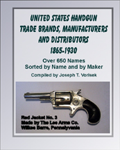Handgun Trade Brands, U.S. Mfrs & Dist. 1865-1930